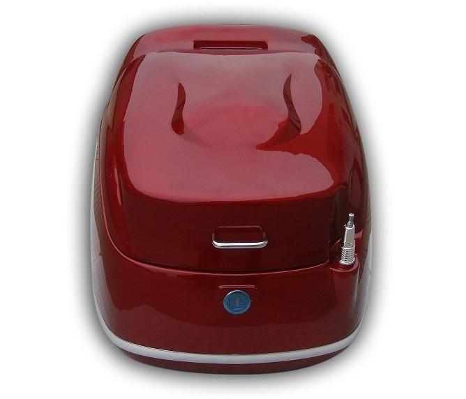 001 retro design roller topcase rot 42l top case f r. Black Bedroom Furniture Sets. Home Design Ideas