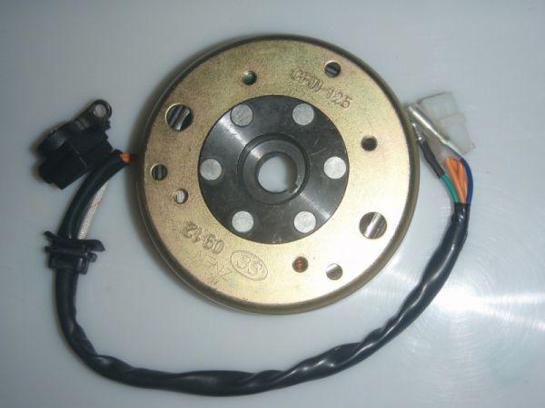 006 - Generator Lichtmaschine für MOTOR RETRO125 Roller Znen Fosti