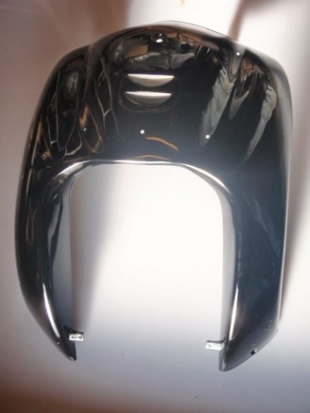 """001 - Frontverkleidung vorne """"schwarz"""" für RETRO125 Roller Znen Fosti"""