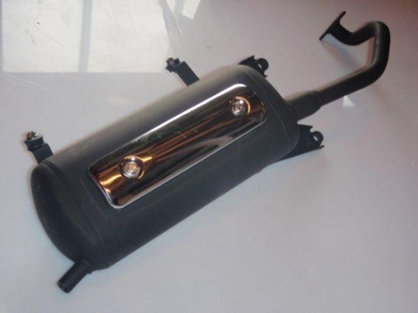 001 - Auspufftopf für Roller RETRO125 Roller Znen Fosti