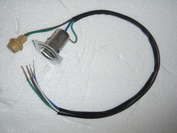 007 - Fassung Lampe Frontleuchte für RETRO125 Roller Znen Fosti