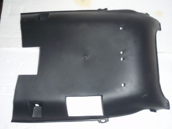 001 - Unterfahrschutz Kunststoff für RETRO125 Roller Znen Fosti