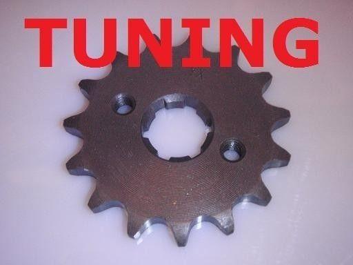 000 - Tuning Ritzel mit 15 Zähnen für Shineray 250STXE, STIXE,... Quad
