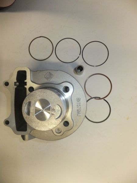 001 - Zylindersatz für RETRO125 Roller Znen Fosti