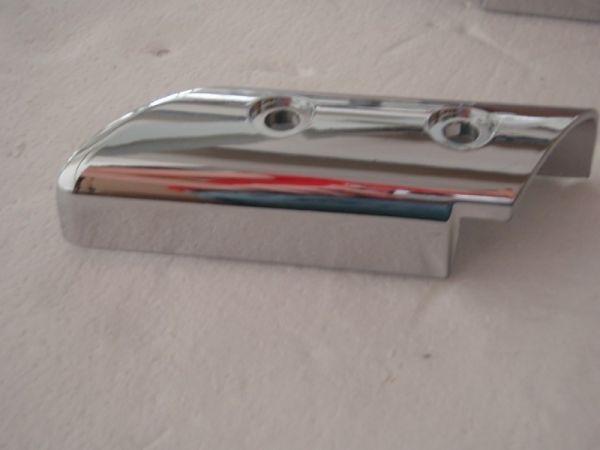014 - Abdeckung Stossdämpfer vorne links für RETRO125 Roller Znen Fosti