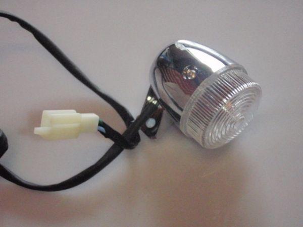 008 - Blinker rechts für RETRO125 Roller Znen Fosti